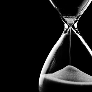 Ein großer Faktor in unserem Business: Zeit