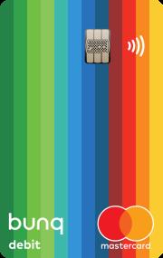 Der NFC Chip der neusten Generation und ein extrem farbiges Design zeichnet die Mastercard aus.