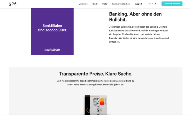 Blackwater.live - Banking ohne Bullshit