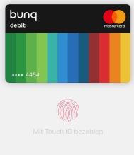 Blackwater.live - Apple Pay und bunq