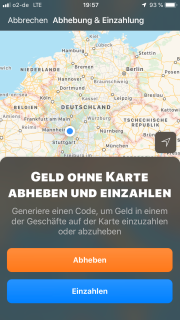 Geld abheben und einzahlen kann man bei bunq natürlich auch, an über 10.000 Stellen dank der Zusammenarbeit mit Barzahlen. (Stand 09/2019) Das Thema Bargeld spielt in Zukunft aber eh kaum noch eine Rolle. Selbst in Deutschland. :)