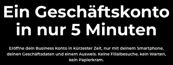 Blackwater.live - bunq Geschäftskonto in nur 5 Minuten?