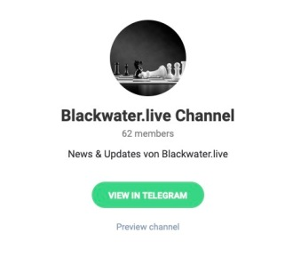 Telegram & Blackwater.live